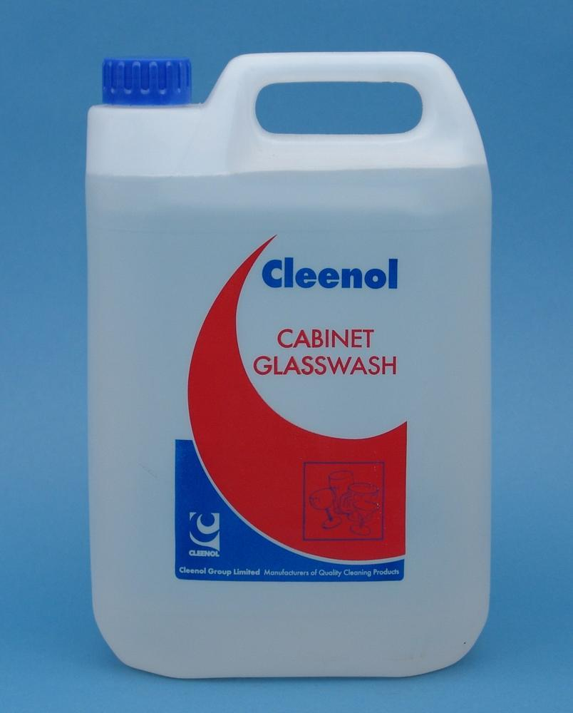 Cleenol Cabinet Glass Wash Cleaning Chemicals - image © SLS Catering & Hygiene