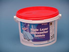 EVANS GLAZE DISHWASH TABLETS Cleaning Chemicals - image © SLS Catering & Hygiene
