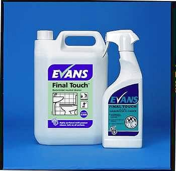 Evans Final Touch Cleaning Chemicals - image © SLS Catering & Hygiene