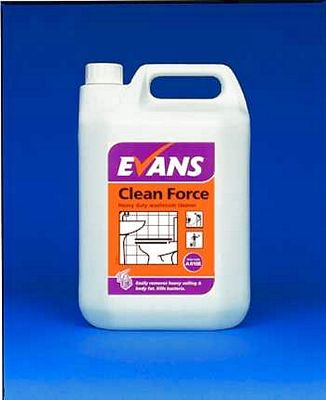 Evans Clean Fast H/Duty W/Room Cleaning Chemicals - image © SLS Catering & Hygiene