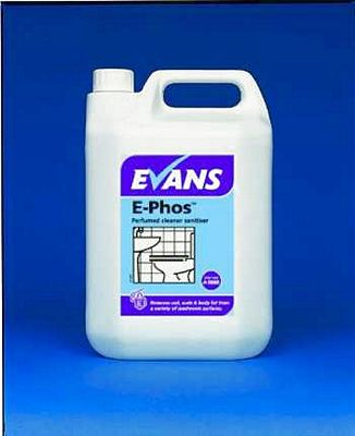 Evans E-Phos Wash & Toilet Cleaner Cleaning Chemicals - image © SLS Catering & Hygiene