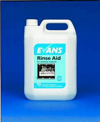 Evans *Glass* Rinse Aid Liquid Cleaning Chemicals - image © SLS Catering & Hygiene