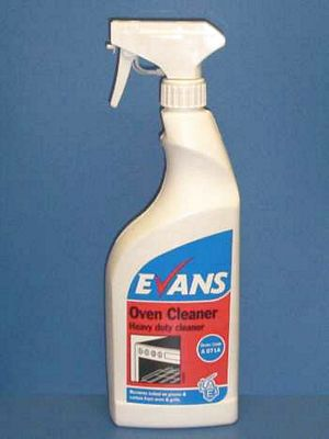 Evans Oven Cleaner H/Duty Cleaning Chemicals - image © SLS Catering & Hygiene