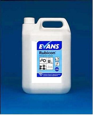 Evans Rubicon Oil & Grease Remover Cleaning Chemicals - image © SLS Catering & Hygiene